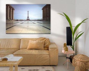 Trocadero Eiffeltoren Parijs