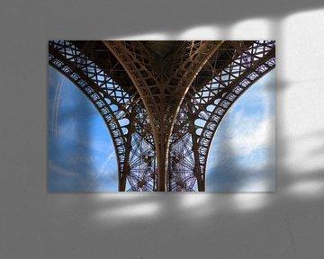 Eiffeltoren detail 1 van Dennis van de Water
