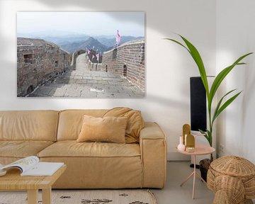 Ein paar Meter Chinesische Mauer von Andrew van der Beek