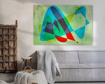 couleur et forme années 60 sur Rietje Bulthuis