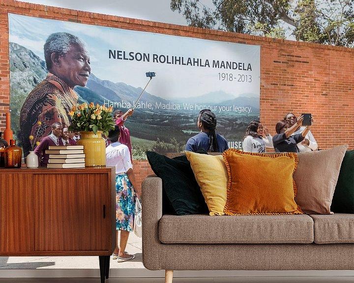 Beispiel fototapete: Apartheid-Museum Nelson Mandela in Pretoria von Annette van Dijk-Leek