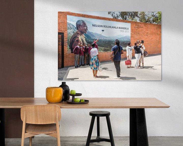 Beispiel: Apartheid-Museum Nelson Mandela in Pretoria von Annette van Dijk-Leek