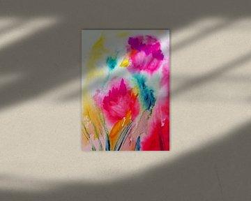 im Blumengarten von M.A. Ziehr