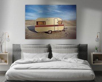 strand caravan van Jan Klomp