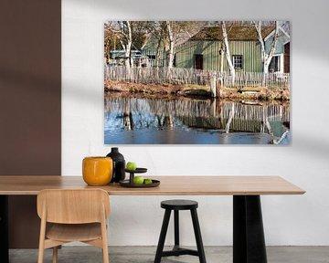 Broek in Waterland spiegeling van CreaBrig Fotografie