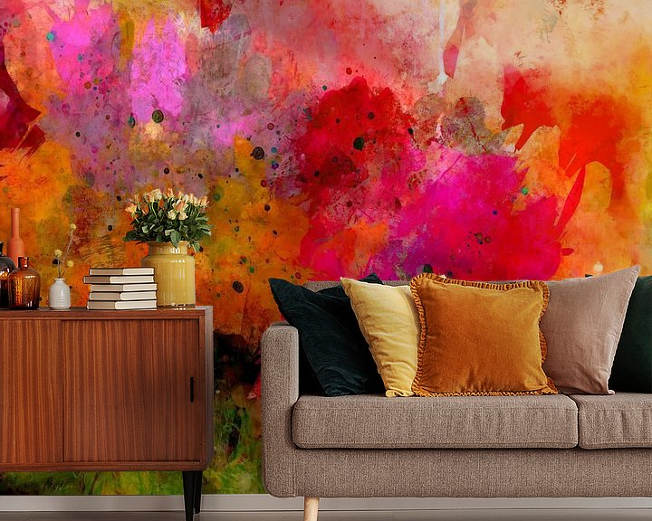 Beispiel fototapete: abstract and floral von Andreas Wemmje