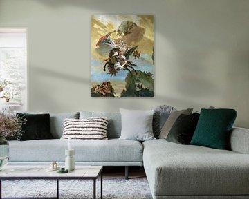 Giambattista Tiepolo, Perseus und Andromeda - 1730-1731