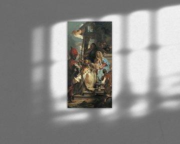 Giambattista Tiepolo, Die Anbetung des Erzmagiers, 1753