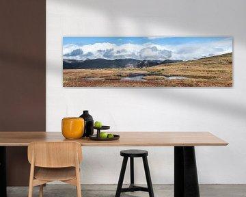 Skaftafell natuurpark in IJsland van Kim van Dijk