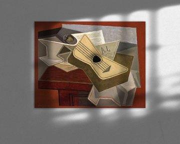 Juan Gris, Gitarre und Zeitung - 1925 von Atelier Liesjes