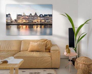 Middelburg - Kanäle und monumentale Gebäude von Eleana Tollenaar