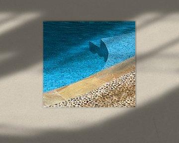 Aan de rand van het zwembad van Artstudio1622