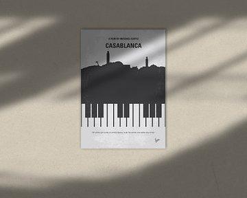 No192 My Casablanca minimal movie poster van Chungkong Art
