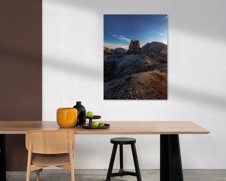 Beispiel: Guten Morgen Dolomiten von Thomas Weber
