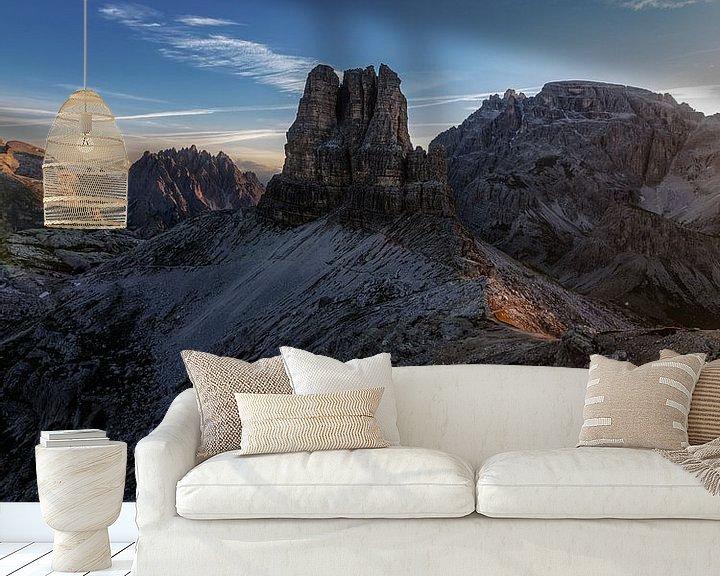 Beispiel fototapete: Guten Morgen Dolomiten von Thomas Weber
