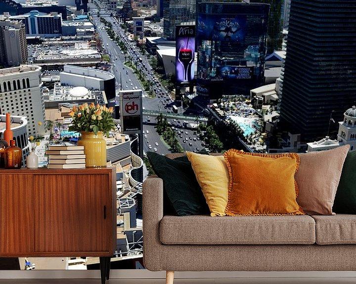 Sfeerimpressie behang: Las Vegas USA van Robin van Maanen