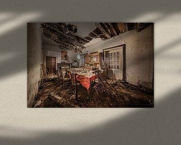 Der verfallene Speisesaal von Inge van den Brande