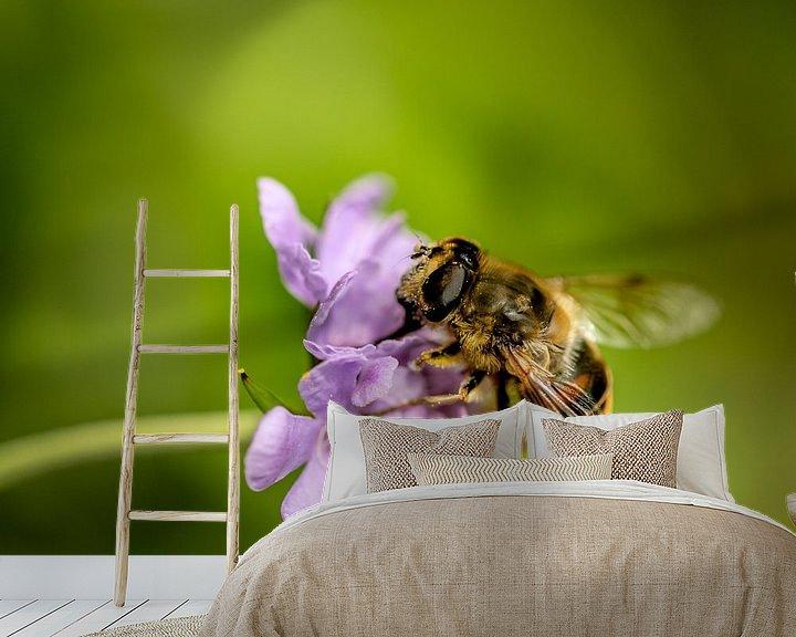 Beispiel fototapete: bienenfleiß von andreas dauer