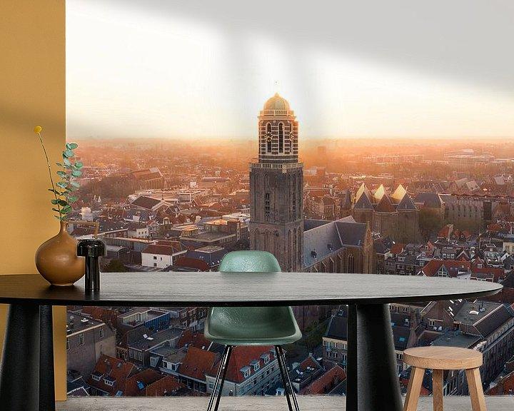 Sfeerimpressie behang: Peperbus Zwolle, Overijssel van Thomas Bartelds