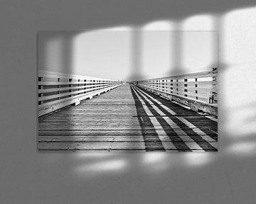 Pont sur la côte californienne sur Lars-Olof Nilsson