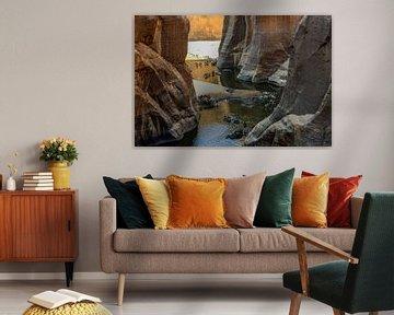 Guelta d'Archei in Tsjaad van Maarten van de Biezen