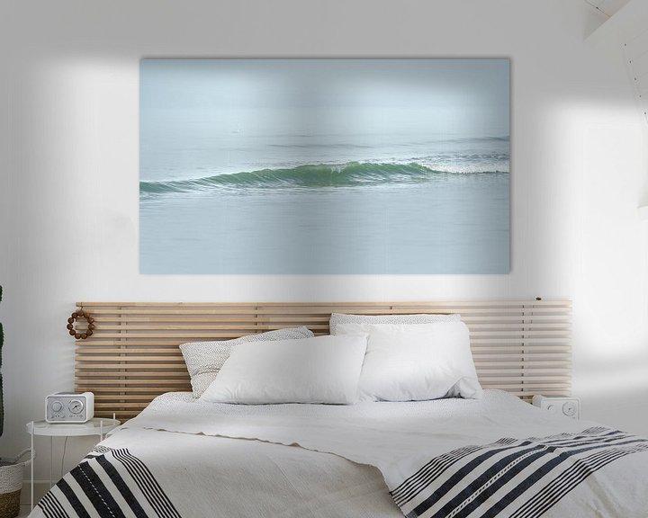 Sfeerimpressie: 1025 Gentle wave van Adrien Hendrickx