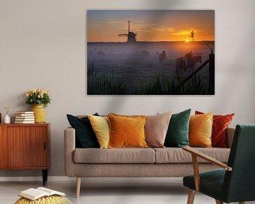 Misty Morning Lienden I von Sander Peters Fotografie