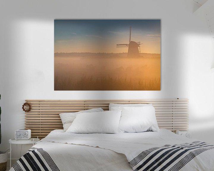 Impression: Le moulin de Lienden sur Albert Lamme