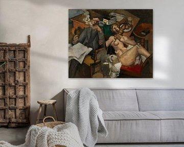 Roger de la Fresnaye, Das Eheleben - 1912 von Atelier Liesjes
