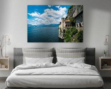 Een dromerig klooster aan het Lago Maggiore. van Samantha Giannattasio