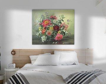 Romantische Blumen von Albert Williams