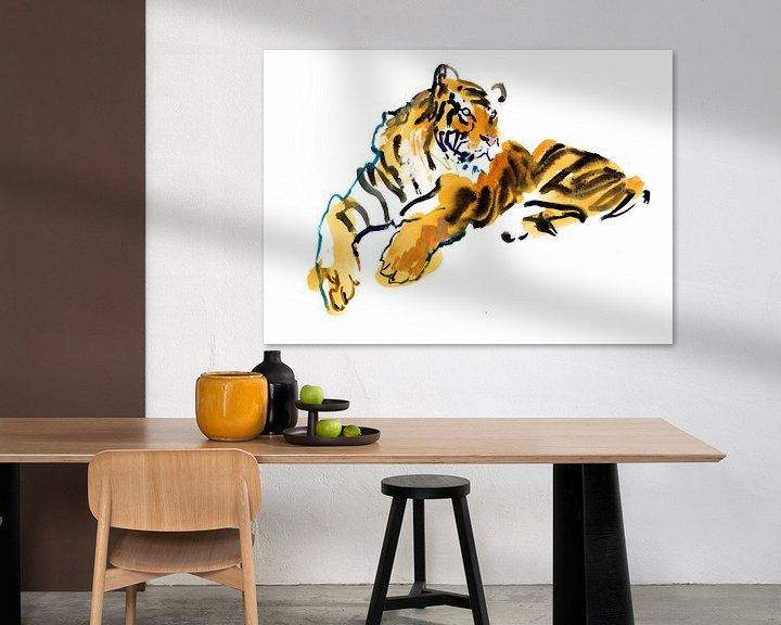 Impression: Tigre sur Mark Adlington