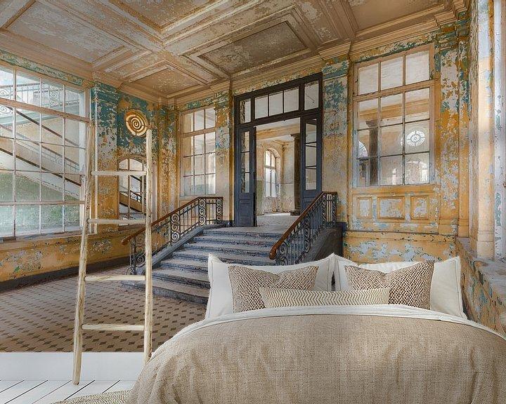 Beispiel fototapete: Eine Halle aus Gold von Perry Wiertz