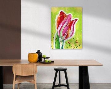 Mächtige Tulpe von ART Eva Maria