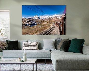 Cervin et Gornergratbahn en Suisse sur Werner Dieterich