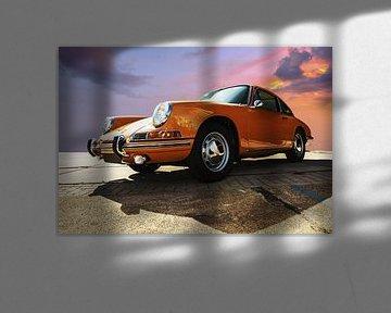 Porsche orange von Brian Morgan