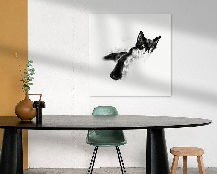 Beispiel: Faule Katze von Olga Tromp
