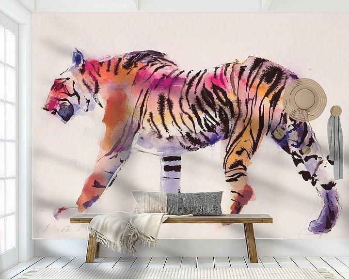 Beispiel fototapete: Tiger von Mark Adlington