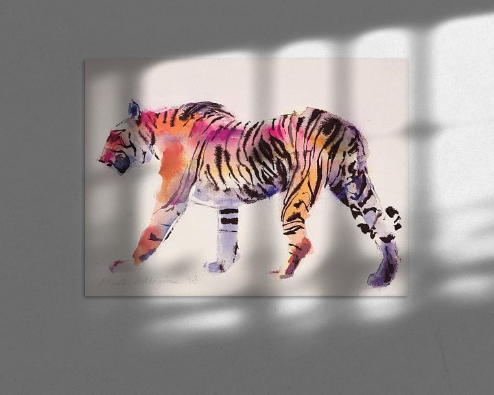 Beispiel: Tiger von Mark Adlington