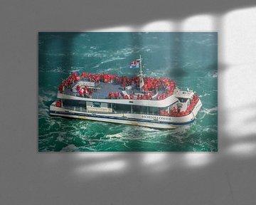 De Hornblower bij de Niagara Watervallen van Henk Meijer Photography