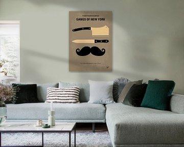 No195 My Gangs of New York minimal movie poster van Chungkong Art