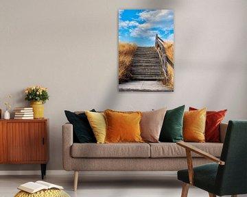 Treppe Bohlenweg