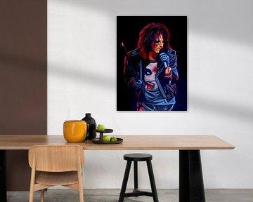 Alice Cooper schilderij von Paul Meijering