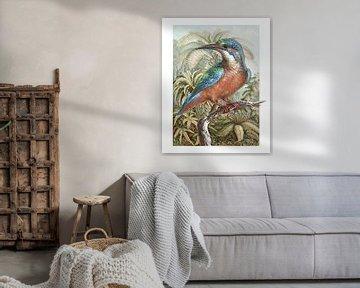 The Common Kingfisher von Marja van den Hurk