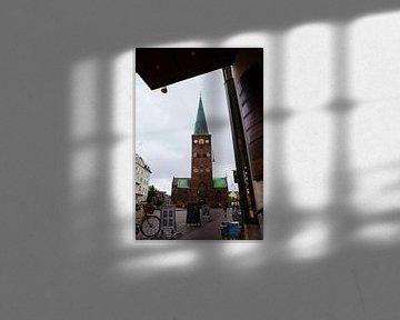 De Domkerk van Aarhus of Sint-ClemenskerDenemarken van Jeroen van Esseveldt