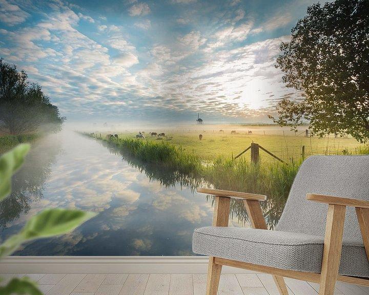 Sfeerimpressie behang: Beautiful morning again van Max ter Burg Fotografie