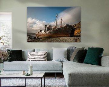 Gestrande walvisvaarder van Gerry van Roosmalen