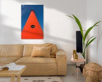 Abstracte vuurtoren van Sander van der Werf