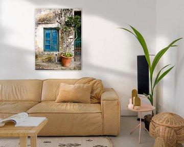 Griekse plantenpot van Charlotte Dirkse