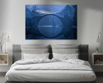 Rakotzbrücke Kromlau von Heiko Lehmann